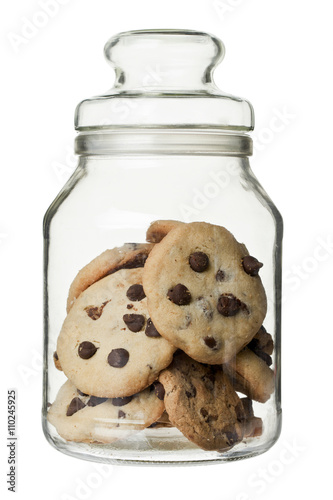 Canvastavla cookie jar
