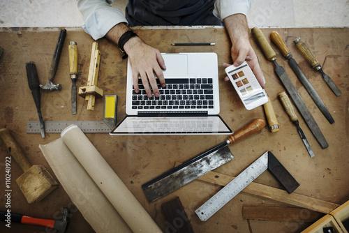 Foto  Craftsman Profession Occupation Pursuit Skilled Concept