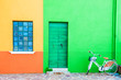 Leinwanddruck Bild - Colorful houses in Burano island near Venice, Italy