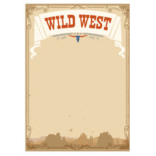 Wild West Background For Text....