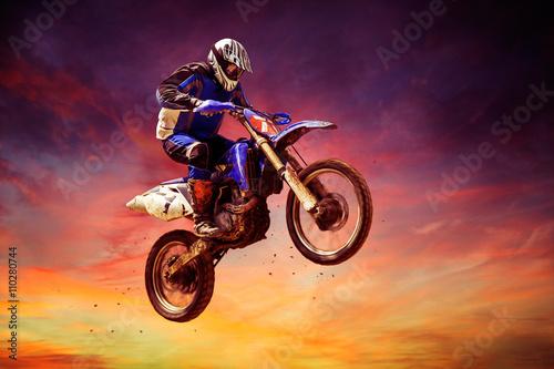 mata magnetyczna Motocross