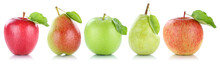 Apfel Frucht Birne Birnen Äpf...