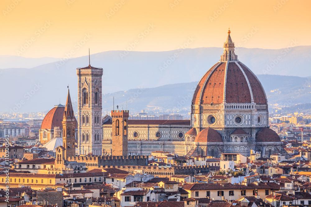Fotografie, Obraz Cathedral Santa Maria Del Fiore, aka Saint mary of the Flower, Florence, Italy