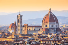 Cathedral Santa Maria Del Fiore, Aka Saint Mary Of The Flower, Florence, Italy