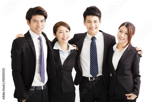 Fotografía  Portrait Of happy Young Business group