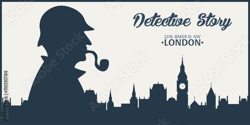 Photo  Sherlock Holmes poster