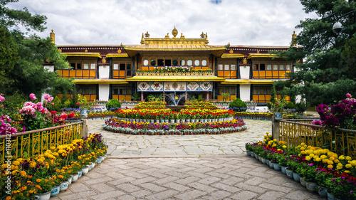 Fotografie, Obraz  Norbulingka summer palace in Lhasa, Tibet