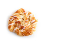 Danish Pastries Isolated On Wh...