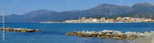Photo Stands Egypt De Saint Florent à la plage du Lotu (Corse)