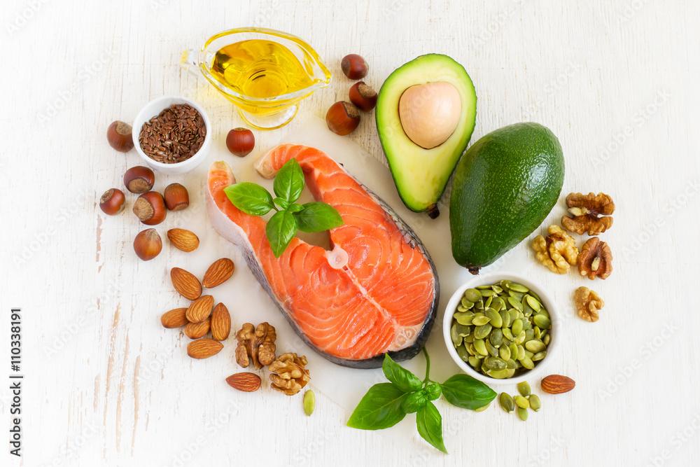 Láminas Las fuentes alimentarias de ácidos grasos omega 3 y grasas ...