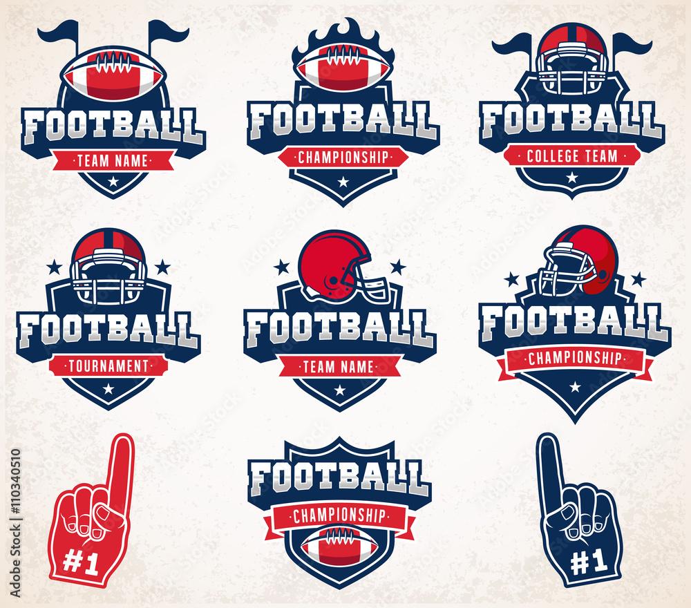 Vector Football logo i insygnia