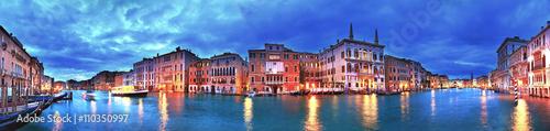 Foto op Plexiglas Venetie Grand Canal panorama, Venice, Italy