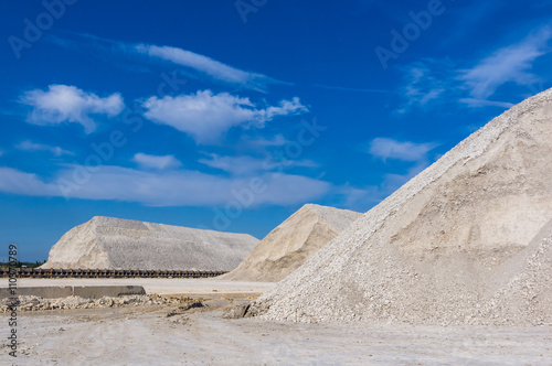 Fotografia, Obraz  warehouse production in a quarry