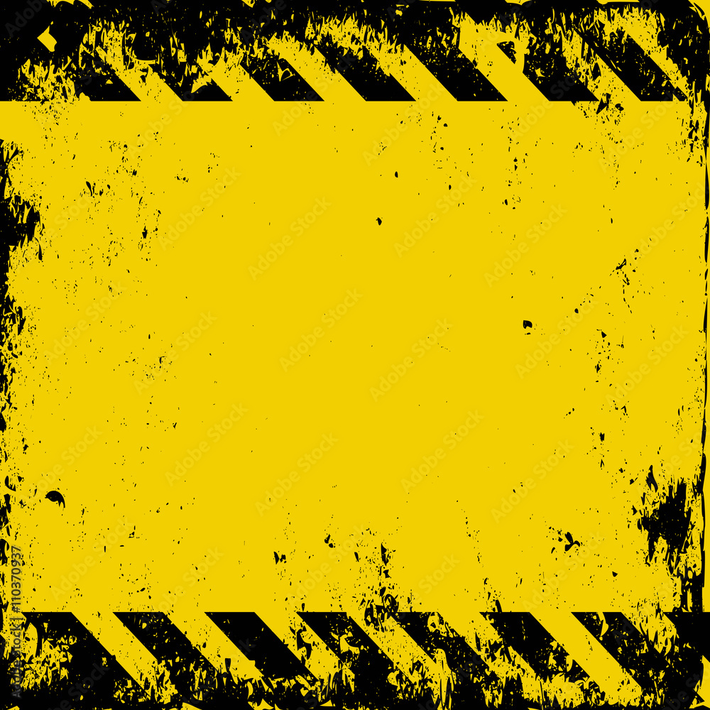 Fototapeta grunge hazard background