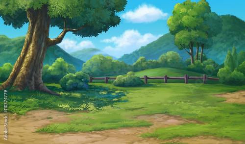 malarstwo do dżungli i góry