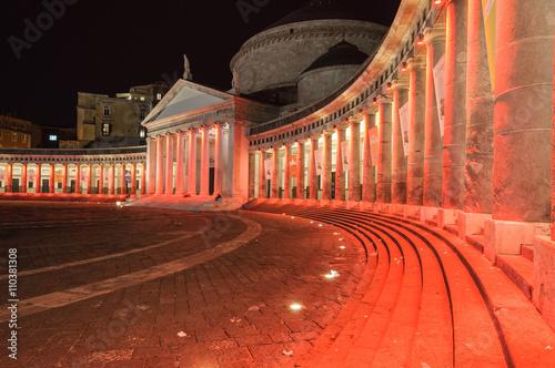 Valokuva  Napoli Piazza Plebiscito