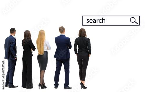 Cuadros en Lienzo business people looking to search
