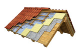 Roof thermal insulation - 110395318