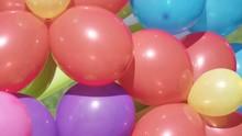 Air Balloons On Street