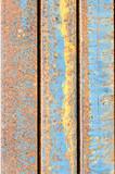 Rust on metal sheet texture