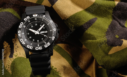 Fotografie, Obraz  Tritium military watch