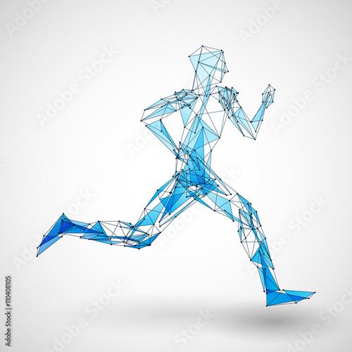 biegacz-wektor