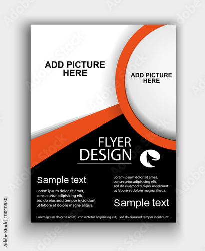brochure design flyer template vector buy this stock vector and