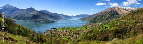 Fotomural Lago di Como (Lake Como) high definition panorama