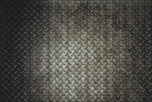 Rusty Steel Diamond Plate Texture