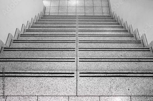 Treppenstufen abwärts Wallpaper Mural