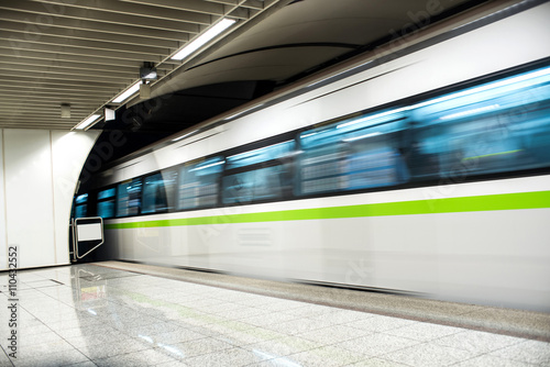 Fotografie, Obraz  Metro vlak