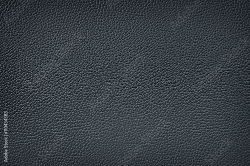 Staande foto Leder black leather texture background