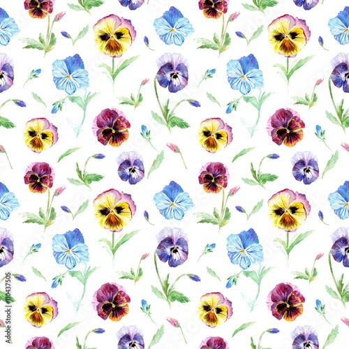 bezszwowy-kwiecisty-wzoru-naduzyty-kwiaty-akwareli-reka-rysujaca-ilustracja