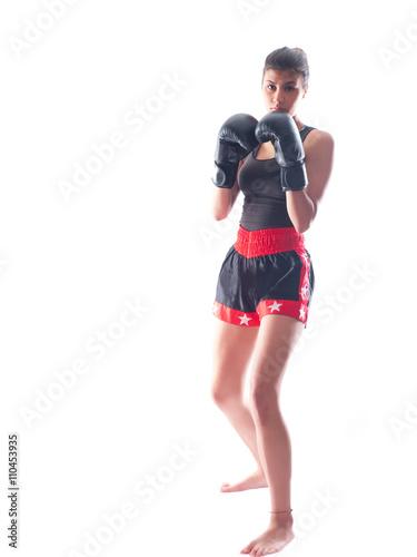 Photo  kickboxing girl