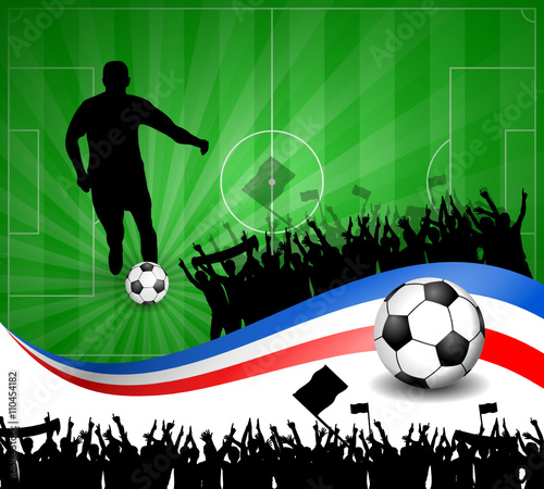Fussball Plakat Frankreich X Buy This Stock Vector And