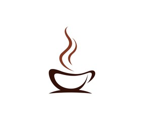 Naklejka Coffee logo