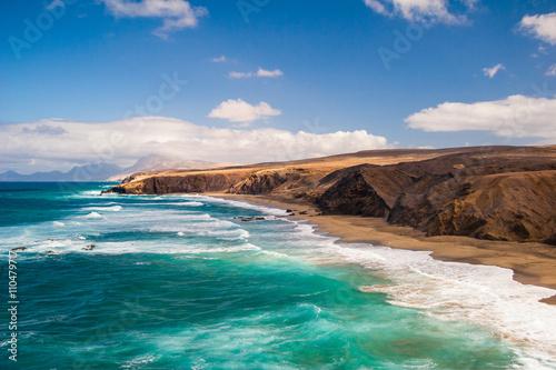 Fotografia  Fuerteventura Pared beach Canary Islands Spain