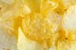 Close up potato chips