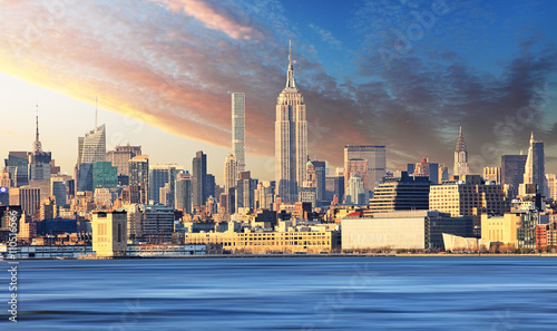 Photo  New York skyline with Empire state building