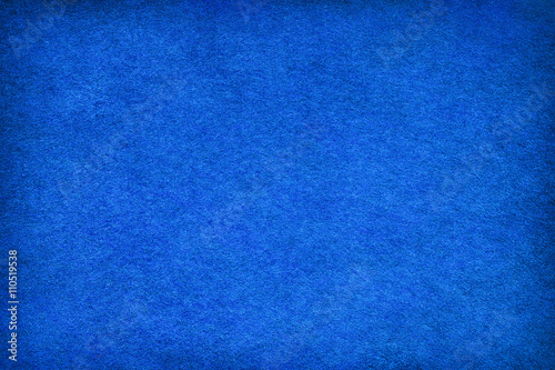 Abstract blue felt background