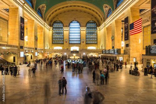 Grand Central Terminal Langzeitbelichtung New York