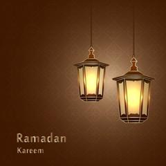 Lantern vector illustration