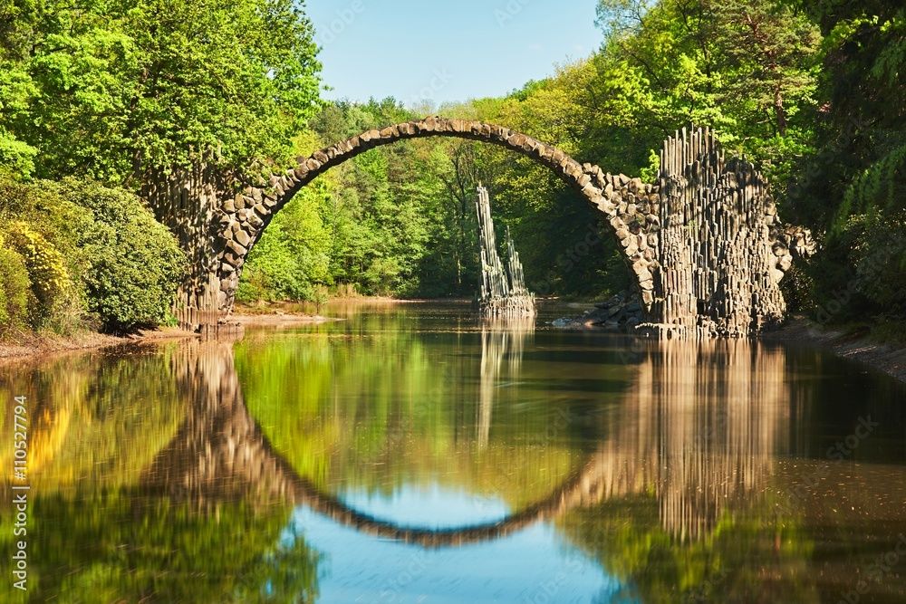 Fototapeta Arch bridge in Germany