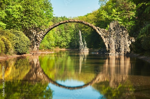 fototapeta na szkło Arch bridge in Germany