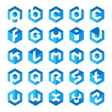 Alphabet Cube Letter Logos  ...