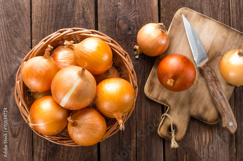Fotomural onion