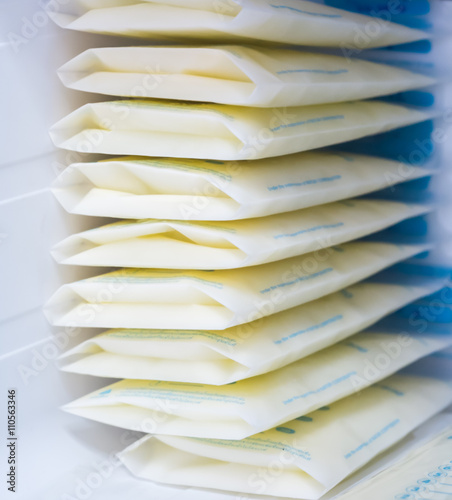 Valokuvatapetti breast milk storage bags