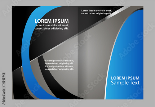Professional business catalog template or corporate brochure design professional business catalog template or corporate brochure design accmission Gallery