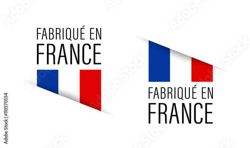 Fototapeta Fabriqué en France obraz