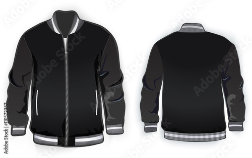 sports or varsity jacket template buy this stock vector and